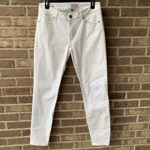 Cabi White Slimmie Jeans